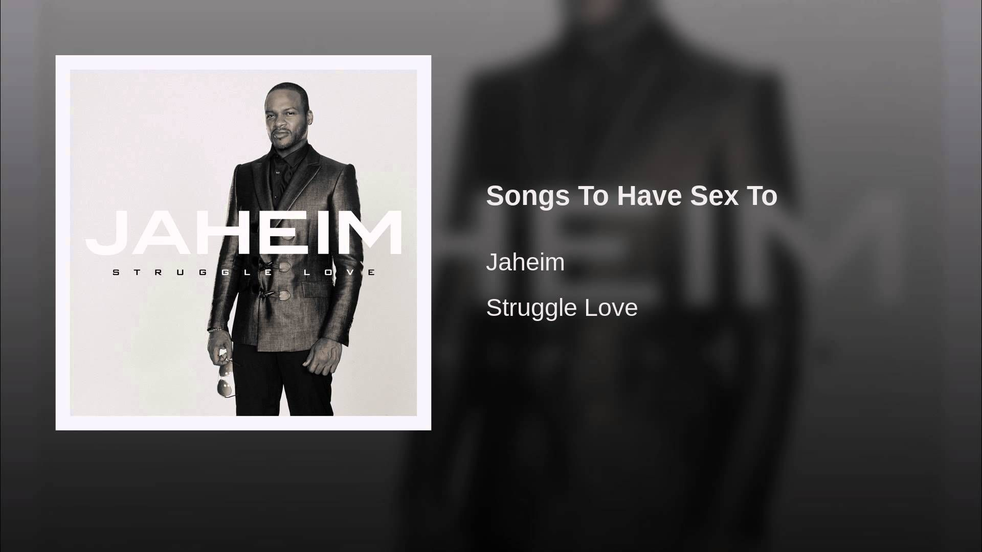R&b songs to have sex to