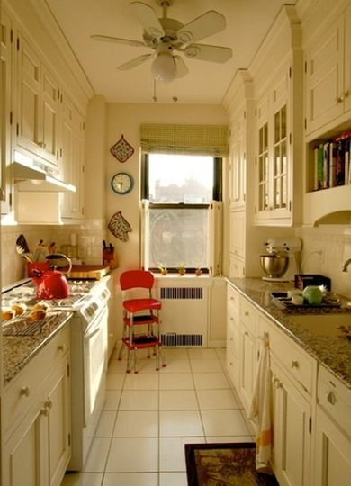 16 Gorgeous Galley Kitchens