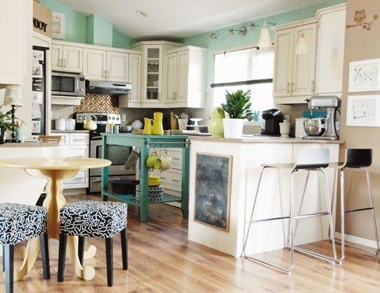 Teal Kitchens teal and white kitchen | kitchen | pinterest | kitchens, condos