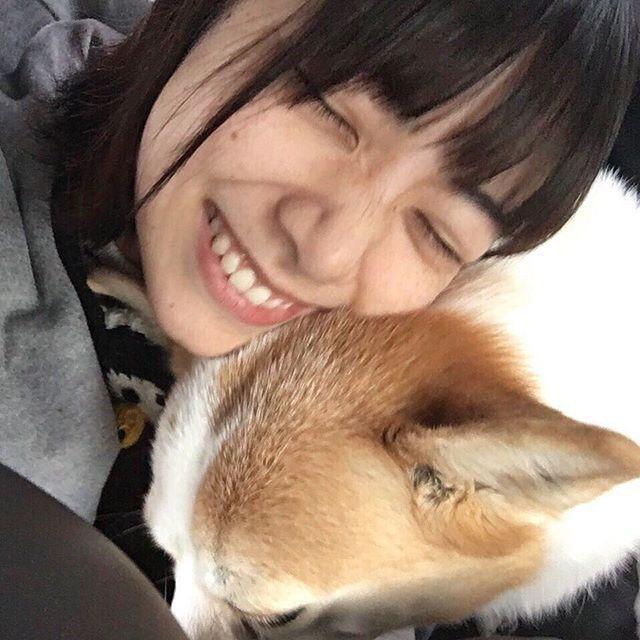 いいことないかなぁー?? 今日も皆さんお疲れさまです #北野日奈子 #乃木坂46 #cute#follow #love  #犬 #も #かわいい