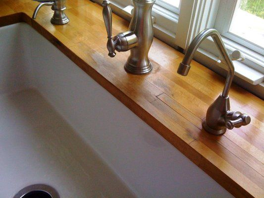 Undermount Sink Wood Countertops Kitchens Forum Gardenweb Ikea Butcher Lock