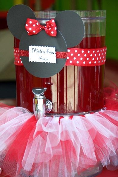 Minnie Mouse Red Extravaganza Birthday Party Ideas Minnie