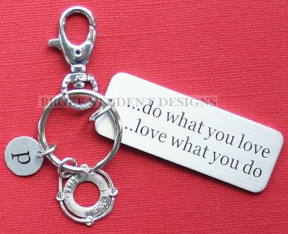 082850fee16 Personalized Lifeguard Key Chain Customized by BrokeStudentDesigns ...