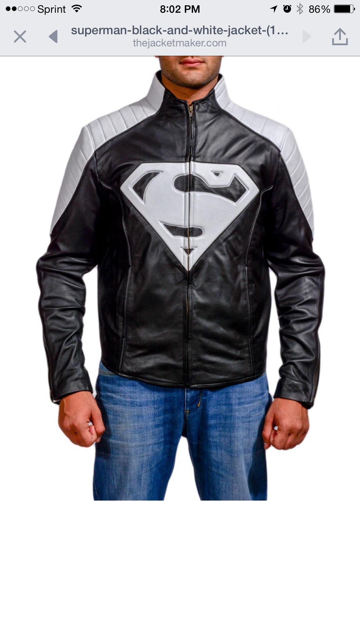 Pin by Sean Pabon on My stuff Leather jacket, White