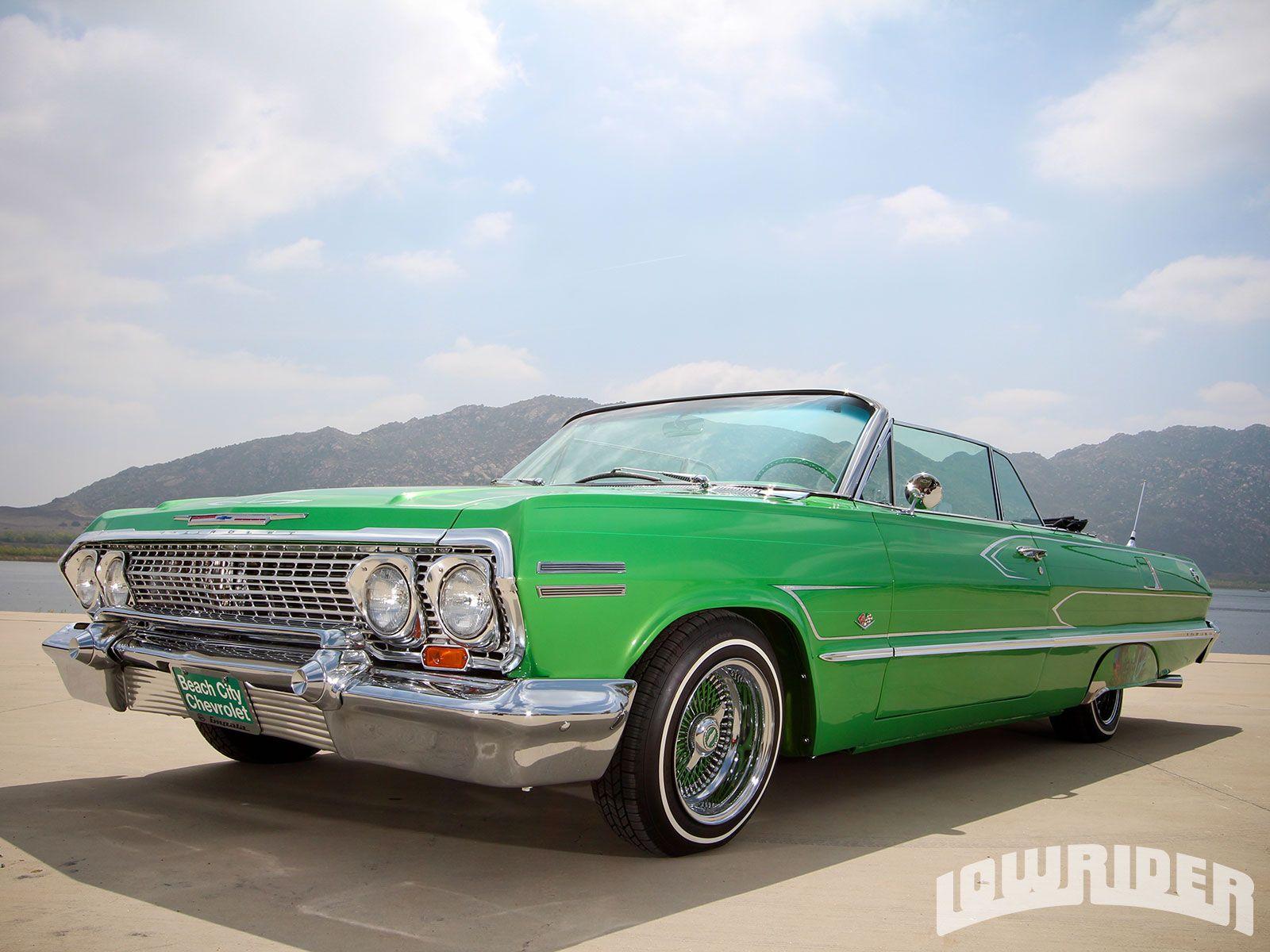 1963 Chevrolet Impala Convertible - Lowrider Magazine