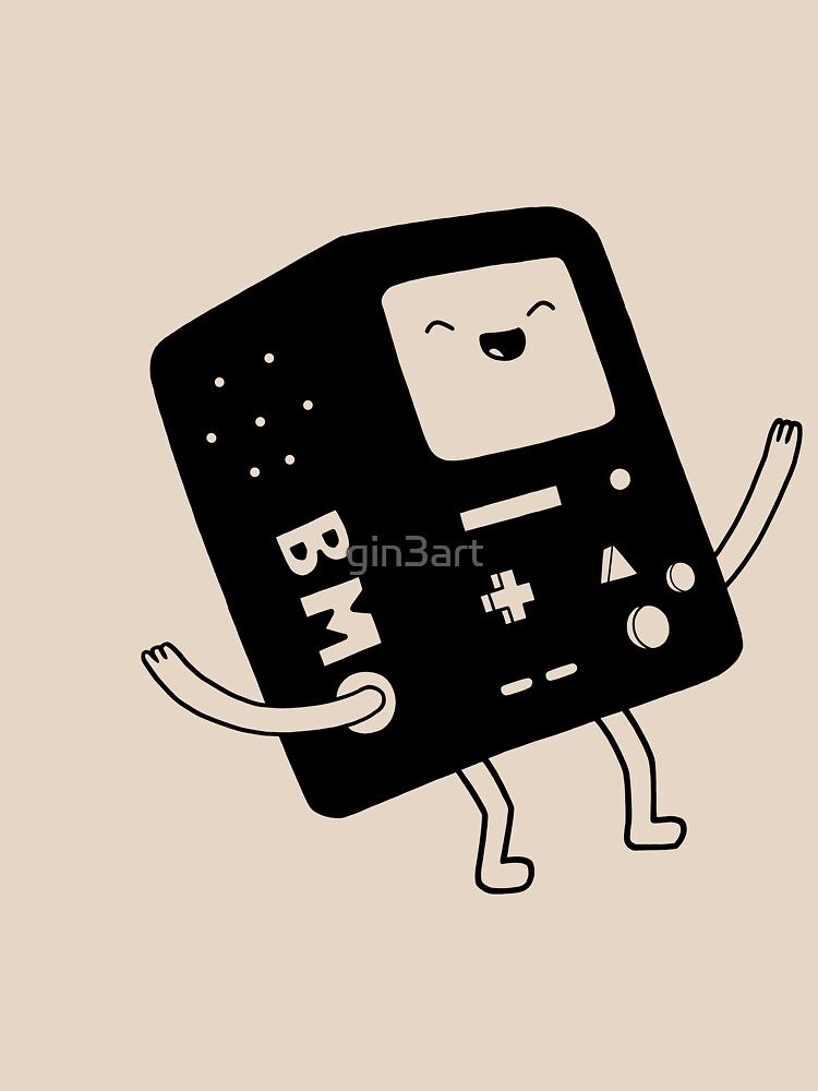 Bmo Adventure Time Amused Laughs In Black And White Essential T Shirt By Gin3art In 2021 Adventure Time Wallpaper Adventure Time Adventure Time Tshirt