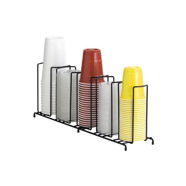 Dispense Rite Wr 5 Five Section Wire Rack Cup And Lid Organizer Minimum Of 2 Lid Organizer Organizing Wires Wire Racks