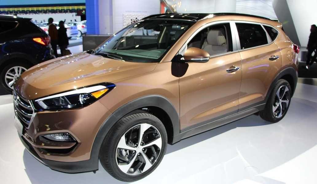 The new 2016 Hyundai Tucson unveiled in New York Hyundai