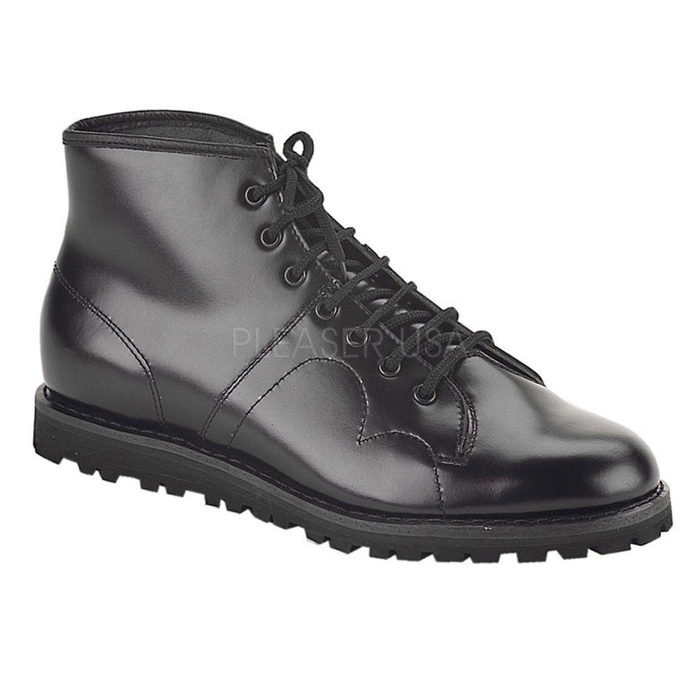 Zapatos negros estilo militar Grafters para mujer ZM7RobMw