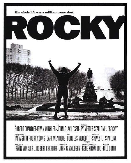 rocky original movie poster rocky