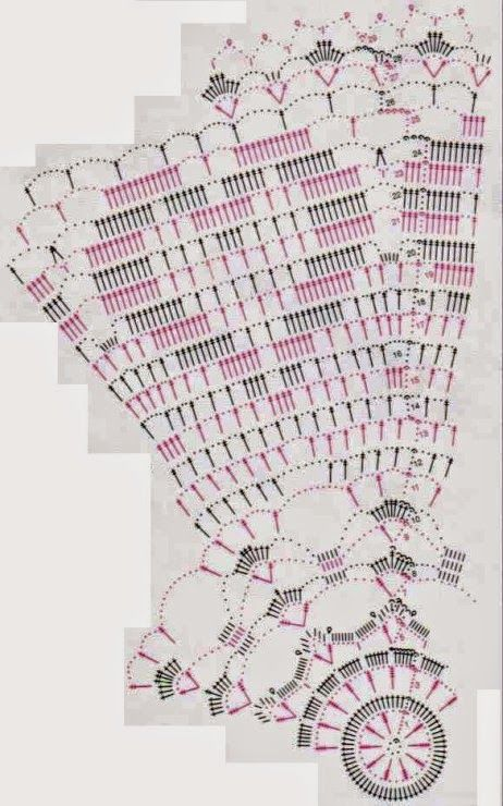 Horgolás minden mennyiségben!!!: Horgolt terítő minták   Crochet ...