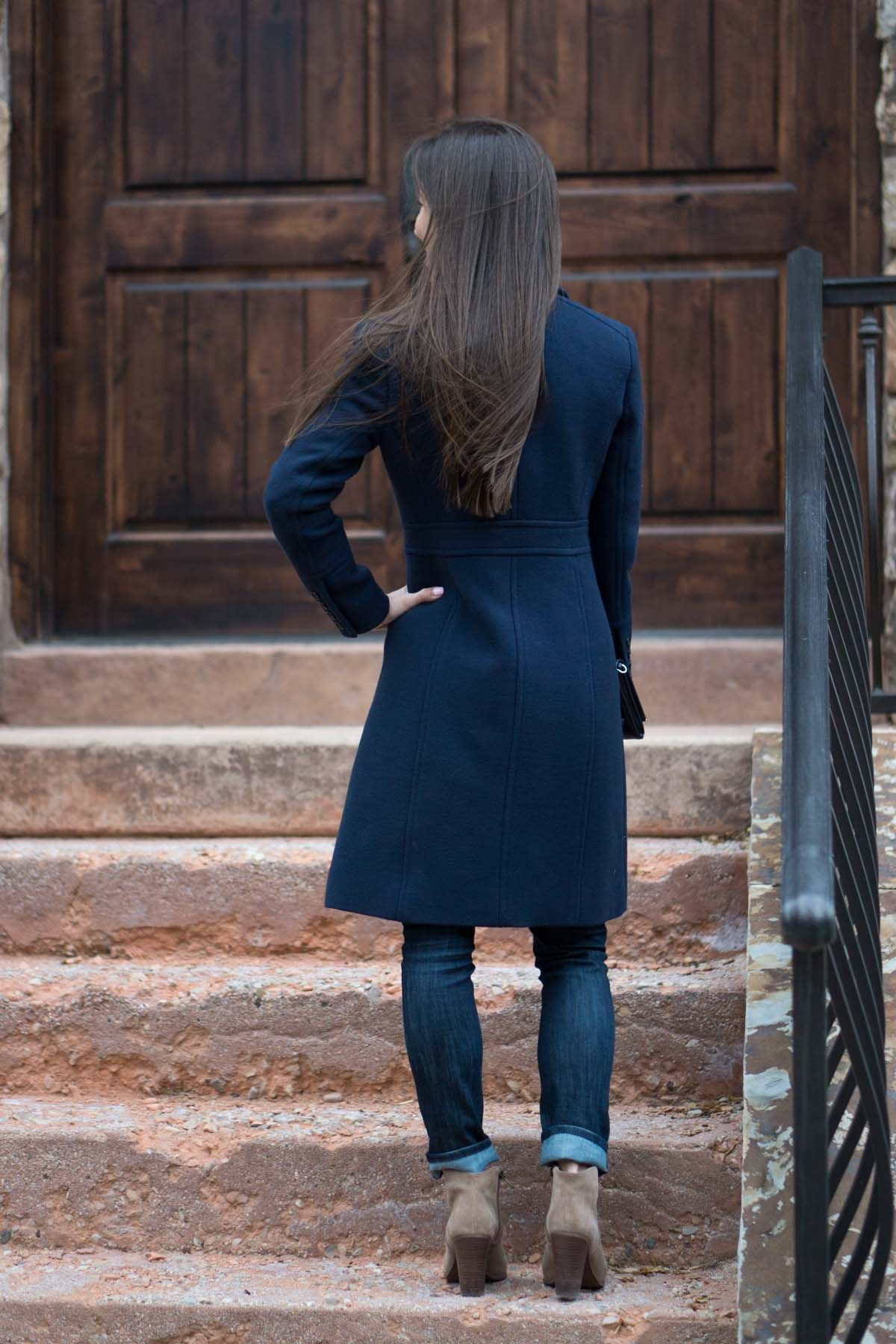 Wardrobe Essentials: J. Crew Lady Day Coat Review | Petite 0 | Petite-friendly fit | Best winter jacket coat | Double-cloth thinsulate