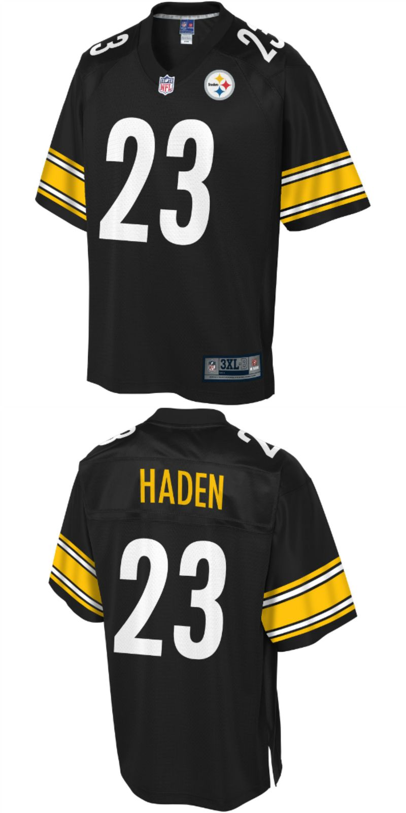pretty nice f2064 bafa3 UP TO 70% OFF. Joe Haden Pittsburgh Steelers NFL Pro Line ...