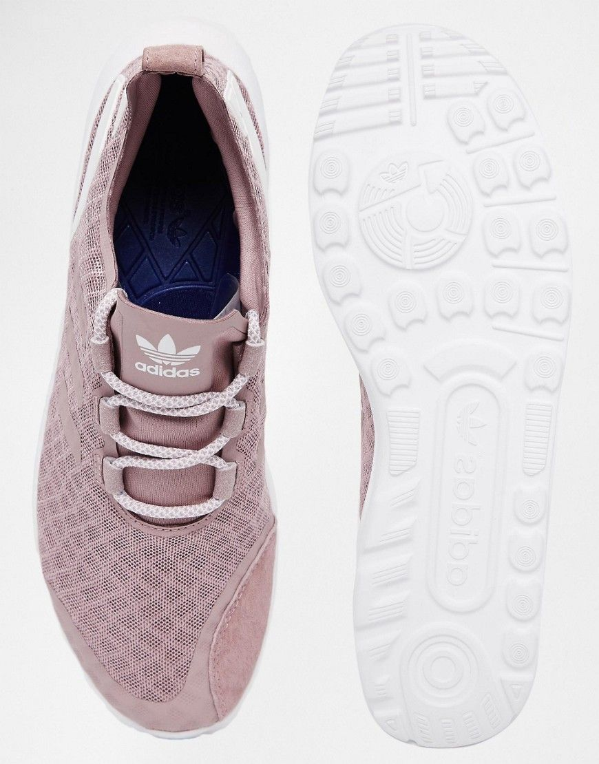 Adidas ZX Flux Women Mesh Trainers