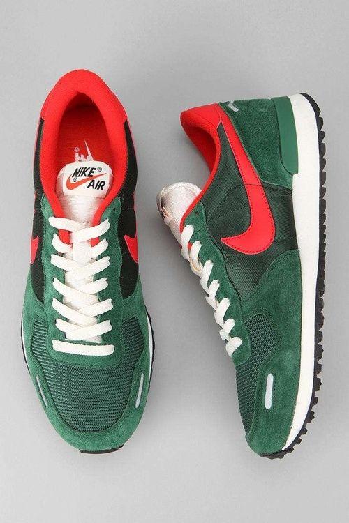 Nike Air Vortex VNTG Mid Turquoise Total Crimson   Tenis