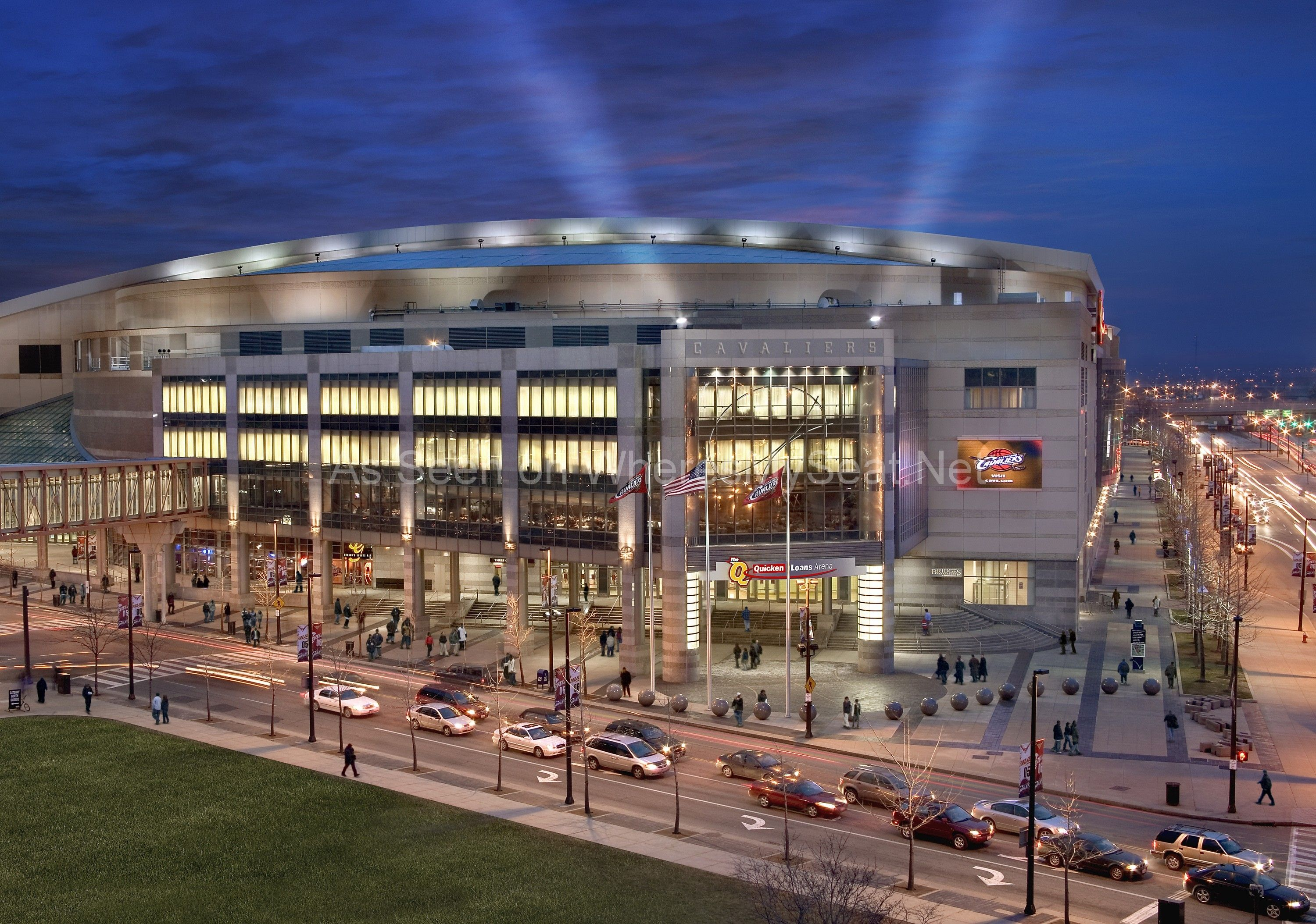 Quicken Loans Arena Cleveland Oh We Have Tickets To All Games At The Q Http Wheresmyseat Net Q With Images Quicken Loans Arena Cleveland Cleveland Against The World
