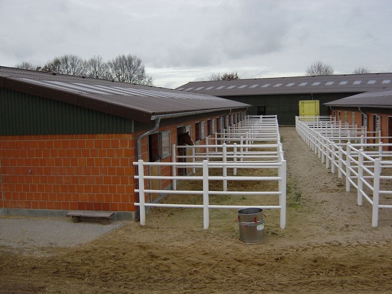 Horse Stables With Compact Runs Germany Old Barns Horse Stables Stables