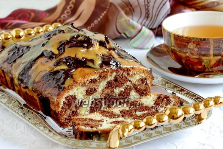 Кекс «Леопард»   Рецепт   Идеи для блюд, Кексы, Десерты