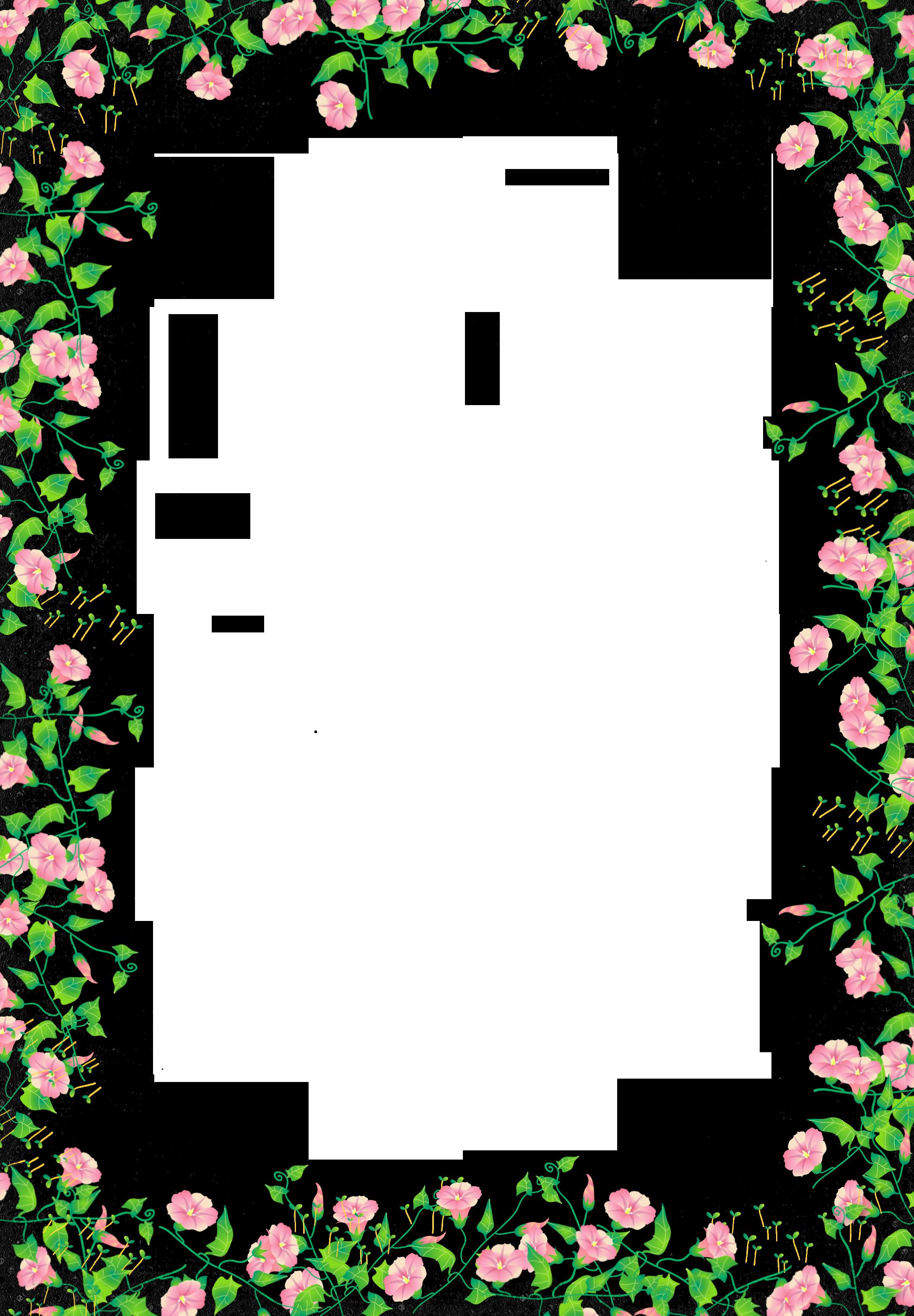 Pin By Beata Garus On Ozdobniki Transparent Flowers Flower Frame