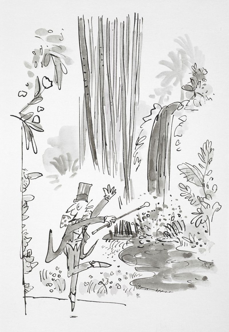 Ilustración para Charlie y la fábrica de chocolate de Quentin Blake ...
