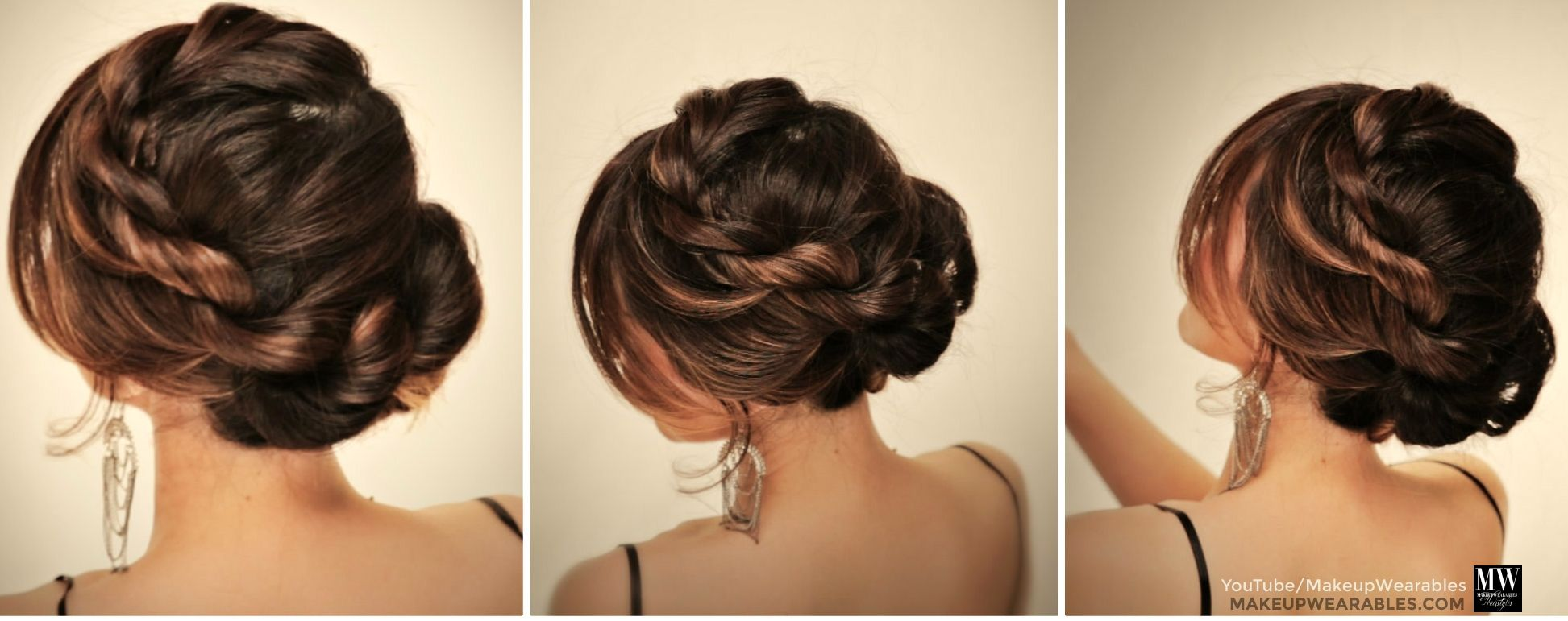 How to amazingly cute easy hairstyles with a simple twist