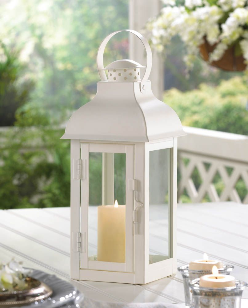 Gable large white lantern shore house pinterest white lanterns