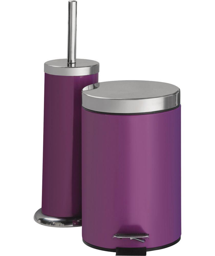 Bathroom Bin And Toilet Brush Set