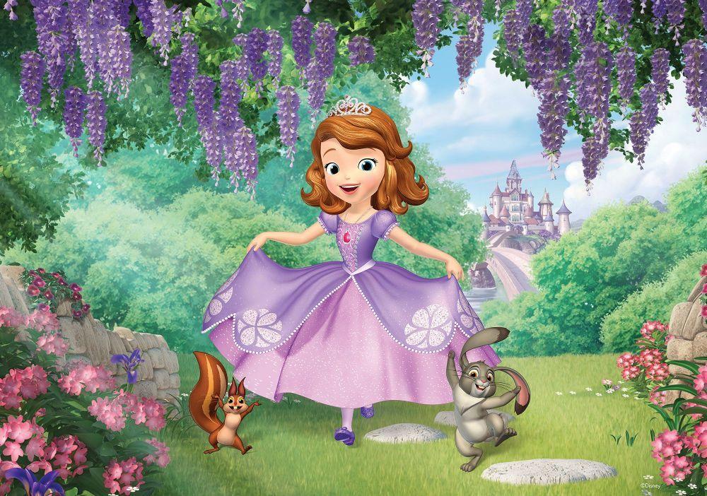 Large Girl S Bedroom Wallpaper Murals Princess Sofia Disney Wall Decoration Express Deli Disney Princess Wallpaper Girls Disney Bedroom Disney Princess Sofia