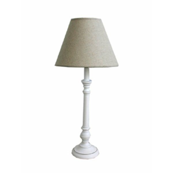 Hicks And Hicks White Washed Classic Lamp With Linen Shade Hicks Hicks House Lamp Home Furnishings Interior Design
