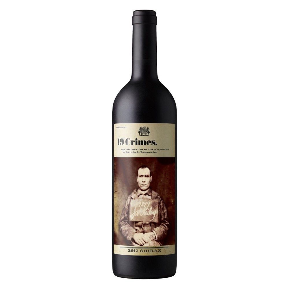 19 Crimes Shiraz Red Wine 750ml Bottle Red wine