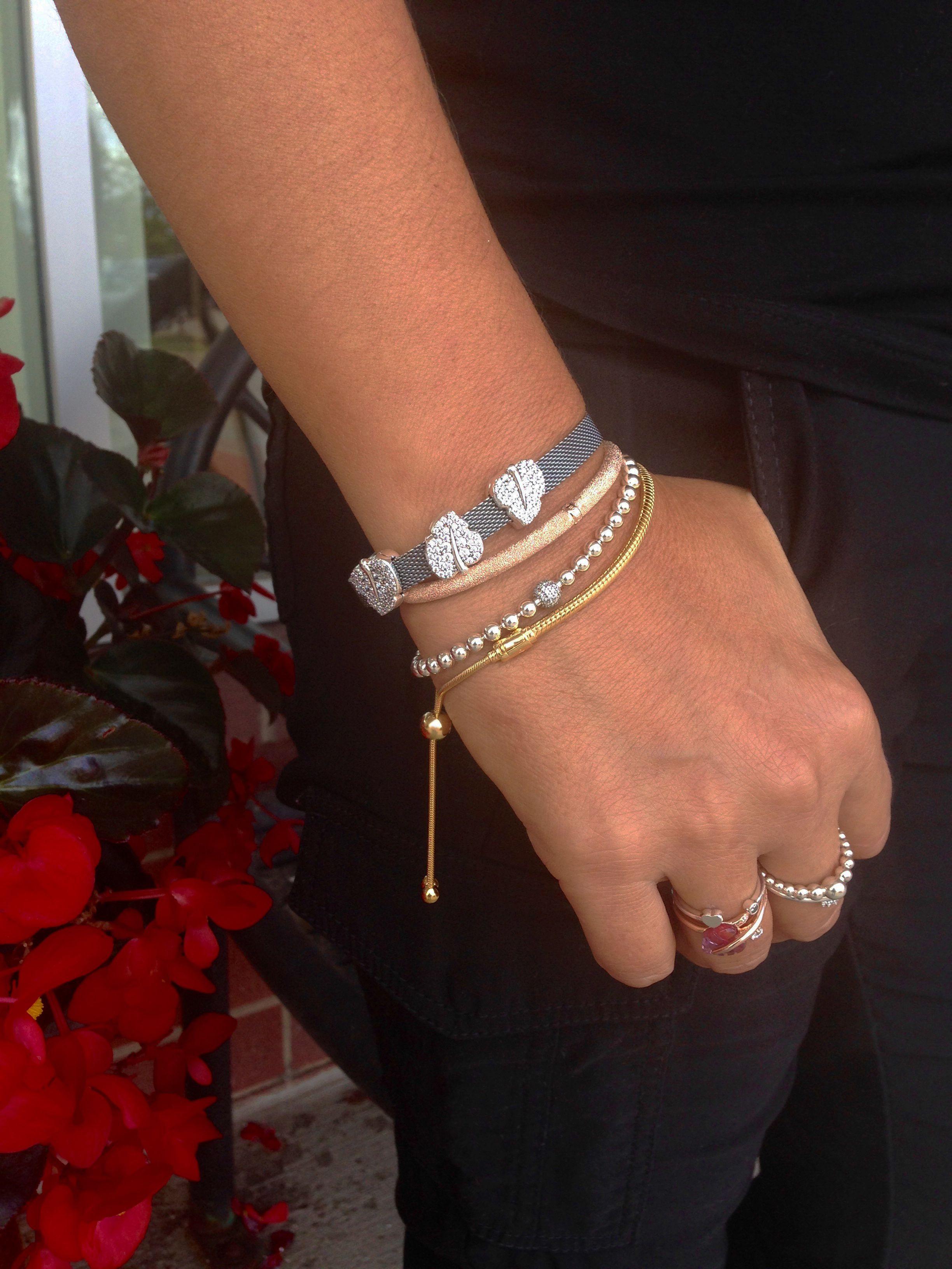 Bracelet Stack | Pandora jewelry, Pandora necklace, Pandora bracelets