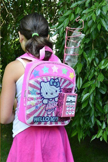 An 11 year old cancer survivor has invented a portable chemo backpack. Her  invention has 7aea0c8be99ea