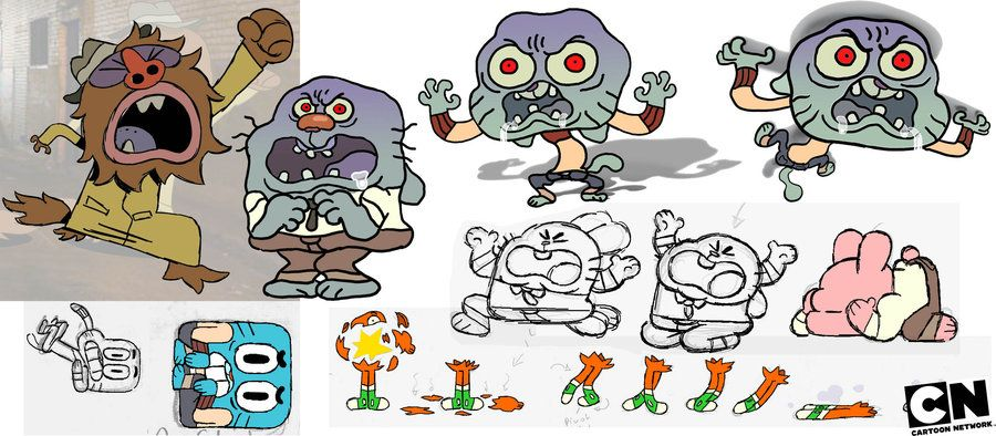 Amazing world of gumball concept art