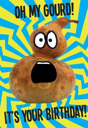 Picture Of Oh My Gourd It S Your Birthday It S Your Birthday