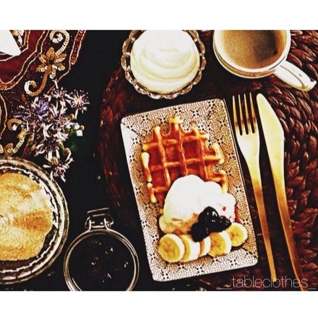 Завтрак - время, когда можно себя побаловать