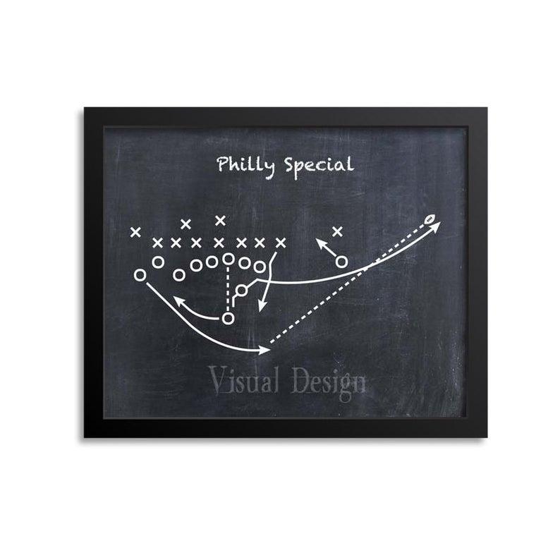 Philly Special Football Play Football Art Philadelphia Etsy Philadelphia Eagles Art Patent Prints Philadelphia Eagles