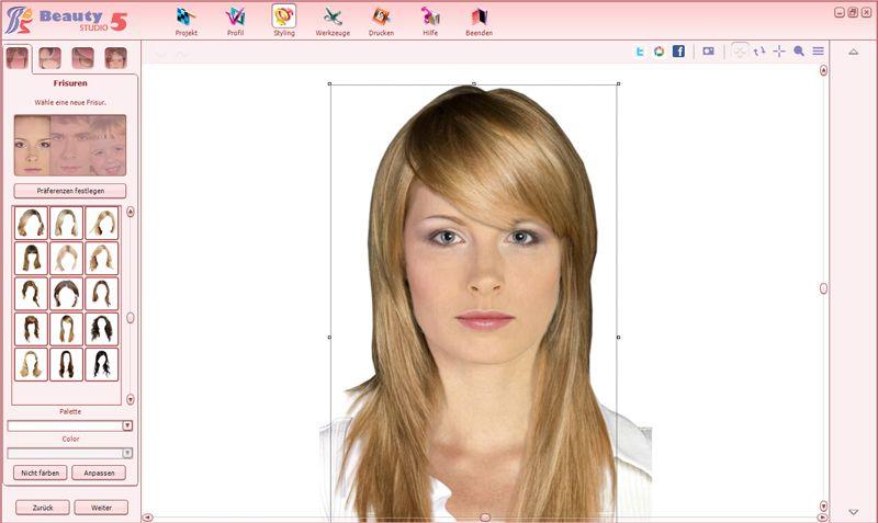 Frisuren Testen Kostenlos Mit Eigenem Foto Ohne Anmeldung Lange