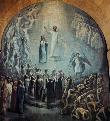 El Juicio Final - Alfonso Ramil (1955-57) Parroquia de Nuestra Señora de las Mercedes (Las Arenas9
