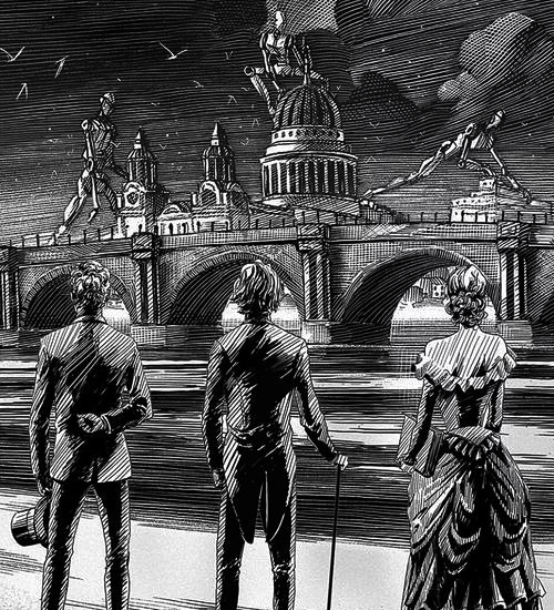 Infernal Devices Spine Art