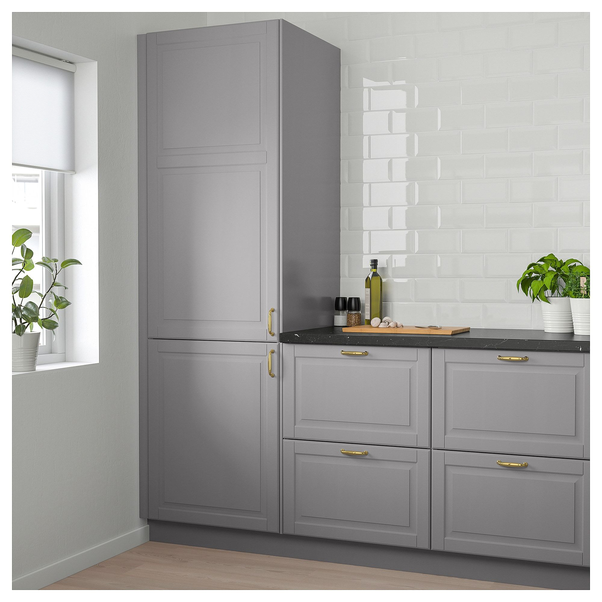 Ikea Kitchen Bodbyn Grey: Active// Winston Residence