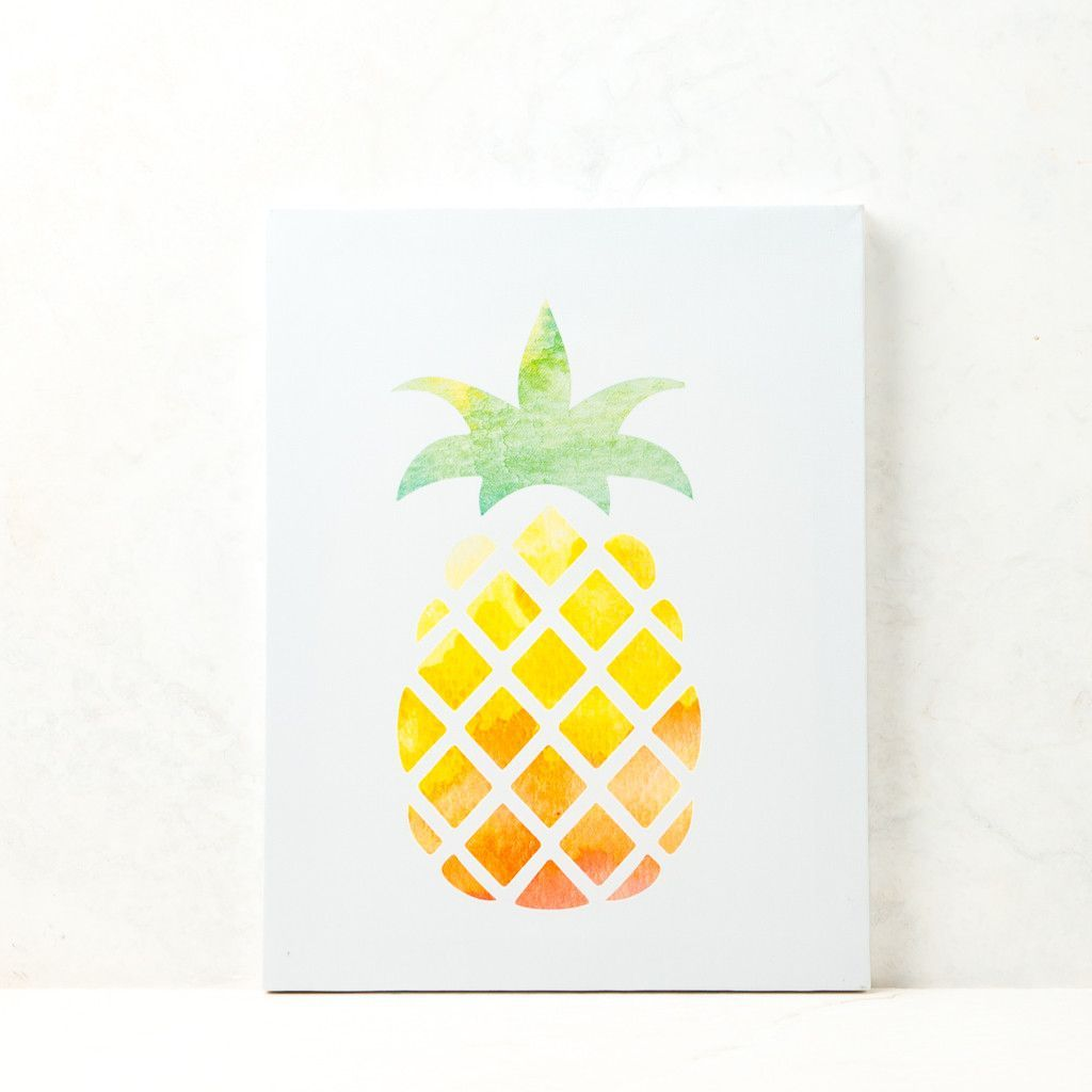 Pineapple Wall Canvas