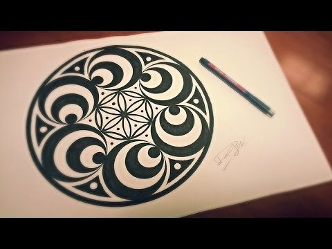 Doppler Effect Mandala How To Draw Geometric Art Youtube