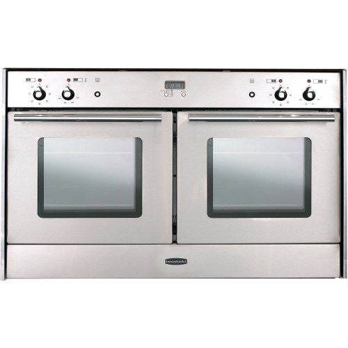 Rangemaster 82120 Toledo Freestyle Extra Wide Electric Built Under Double Oven Silver Builtunderdoubleoven