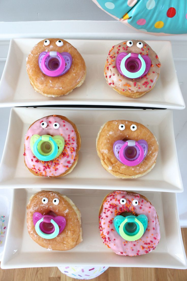 Food · Donut Baby Shower Food