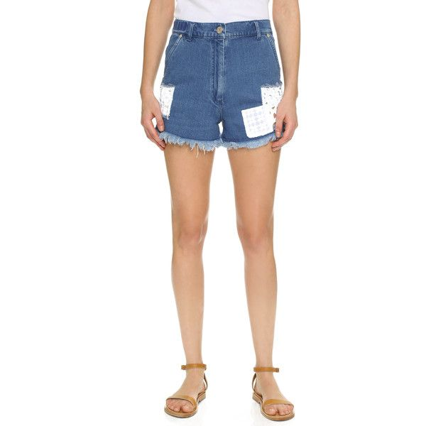 high-waisted shorts - Blue Holland & Holland From China For Sale Outlet Footaction Cheap Real Finishline UYUEQQz