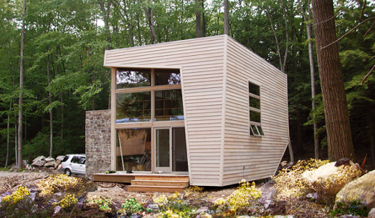 Prefab Mini Me House Acts As An Adorable Smaller Sidekick To An