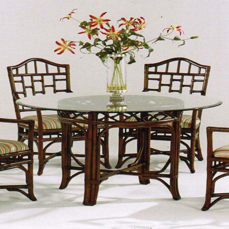 Chippendale Dining Room Simple Chippendale Dining Table  Round Glass Rattan And Products Design Inspiration