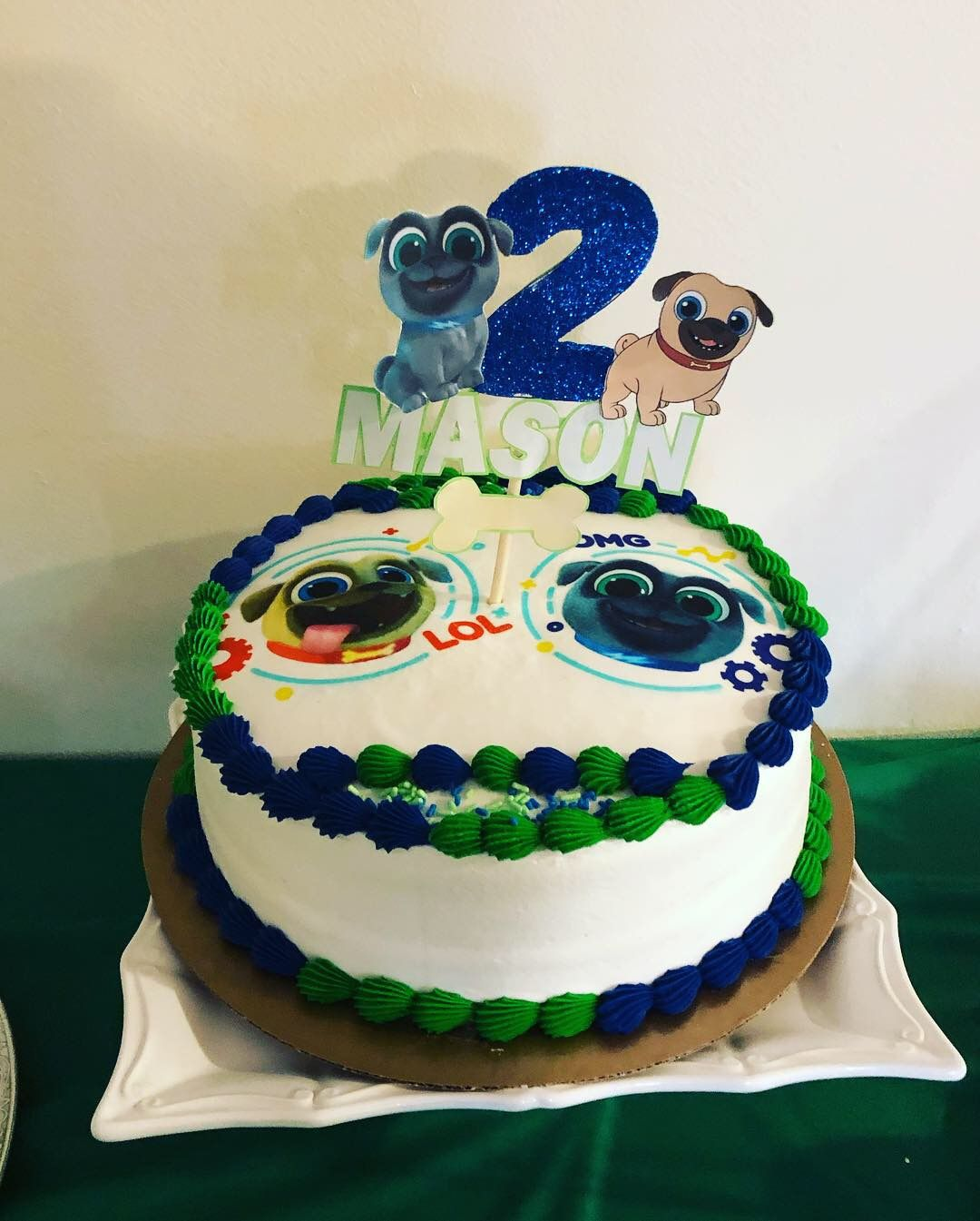 Puppy Dog Pals Cake And Cake Topper Birthday Cake Toppers Cake