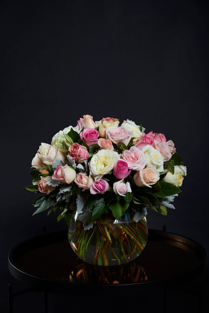 Rose posy delivered in Melbourne in 2020 Beautiful