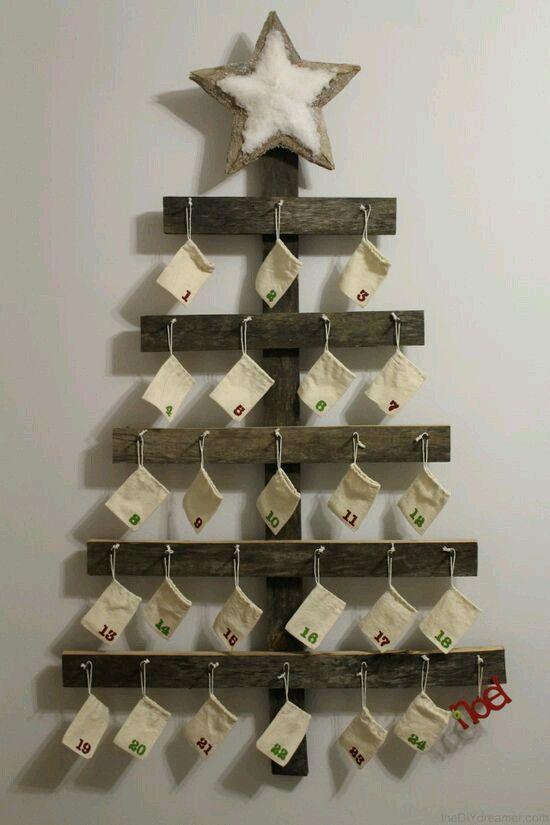 Weihnachten Adventskalender, Weihnachtszeit, Weihnachten Ostern, Basteln  Weihnachten, Weihnachtsbasteln Für Kinder, Weihnachtsdekoration, Basteln  Mit Holz, ...